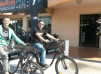 Location de vélo WeRide Leucate