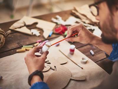 Atelier de mosaique