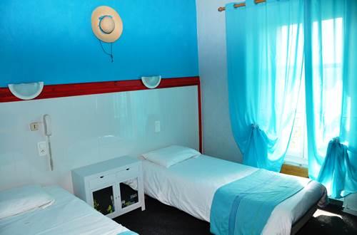 Chambre Bleue CESAR HOTEL ©
