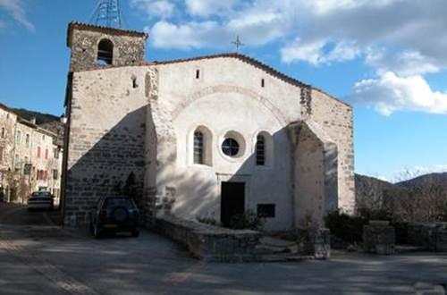 Eglise St André Mialet ©