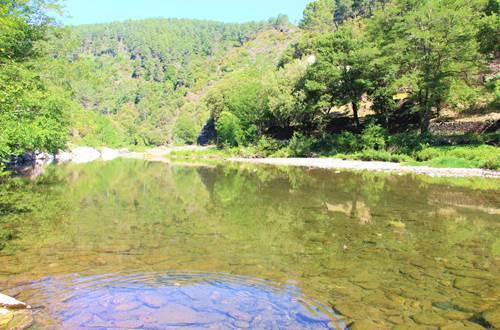 plan d'eau transparant (25°c) ©