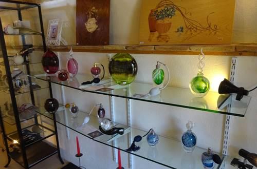 Galerie Angélique - travail du verre © Galerie Angélique