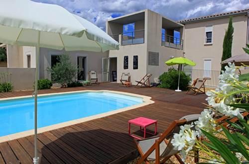 Hôtel Patio de Violette Uzès piscine © Hôtel Patio de Violette