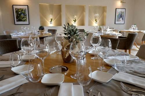 La table à la Villa Montesquieu ©