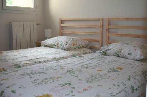 chambre 2 lits le châtaignier le clos d'aurore valleraugue ©