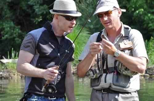 moniteur guide de pêche ©