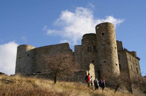 Chateau de Portes Etape de la régordane ©