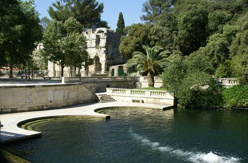 Jardins de la Fontaine - Source Temple de Diane ©