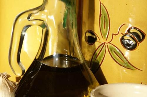 huile d'olive et ail ©