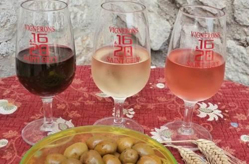 Les Vignerons de Saint-Gély - Les 3 couleurs ©
