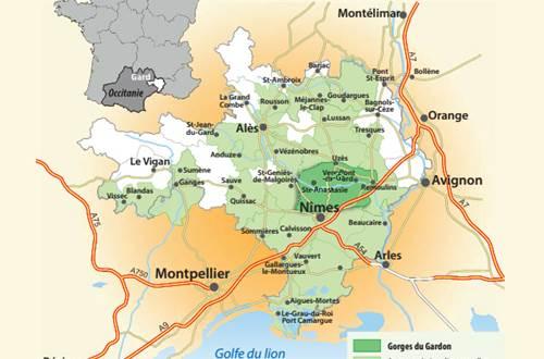 Cartoguide Gorges du Gardon ©