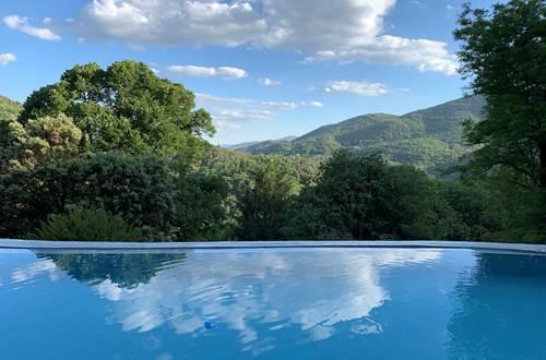 Vue depuis la piscine ©