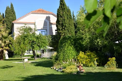 Le jardin de la Villa Hanna ©