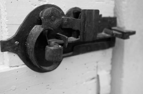 BARTHELEMY Marie - chambre croissant de lune détail poignet de porte © BARTHELEMY Marie