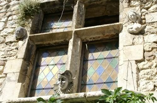 Aiguèze architecture ©