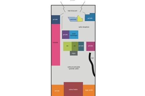 Plan l'apostrophe Location de salle ©