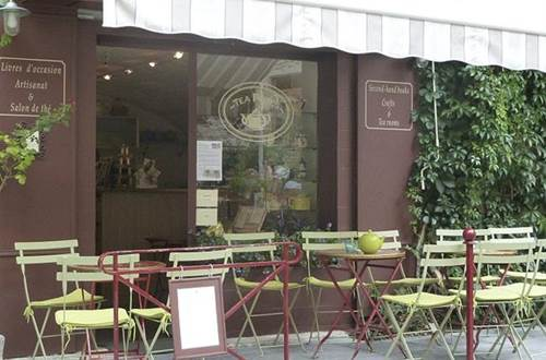 Salon de thé Teapotes terrasse ©