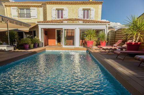 La Villa Léa piscine © RIBEYRE Véronique