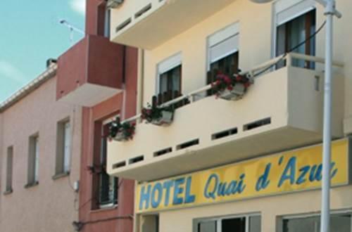Hôtel Quai d'Azur-Façade ©