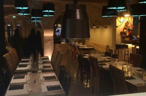 Restaurant Le R - salle restaurant ©