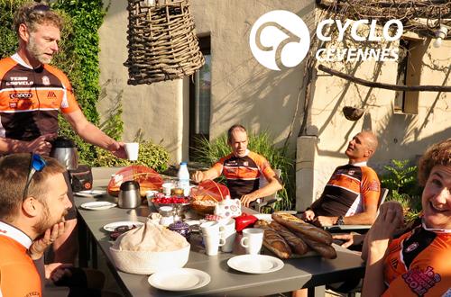 Cyclo Cévennes Camp de base ©