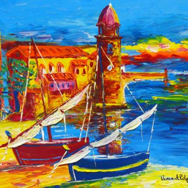 Art Expo Vincent Pulpito- Collioure