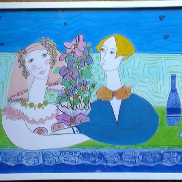 Peintre extérieur Gènevieve Buret