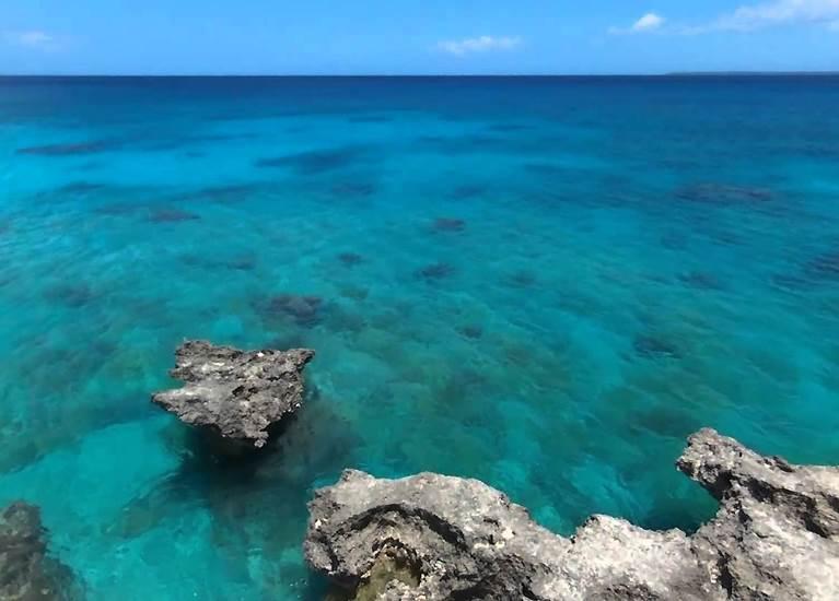 La mer à l'Ile des Pins
