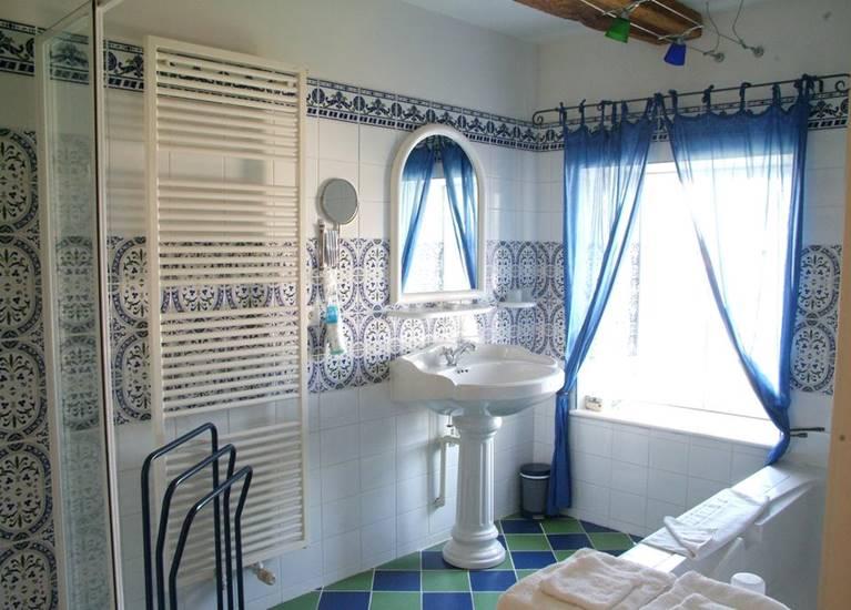 SDB chambre bleue Benoit Breton