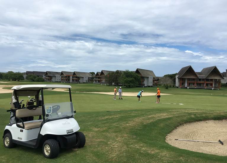 parcours golf sheraton