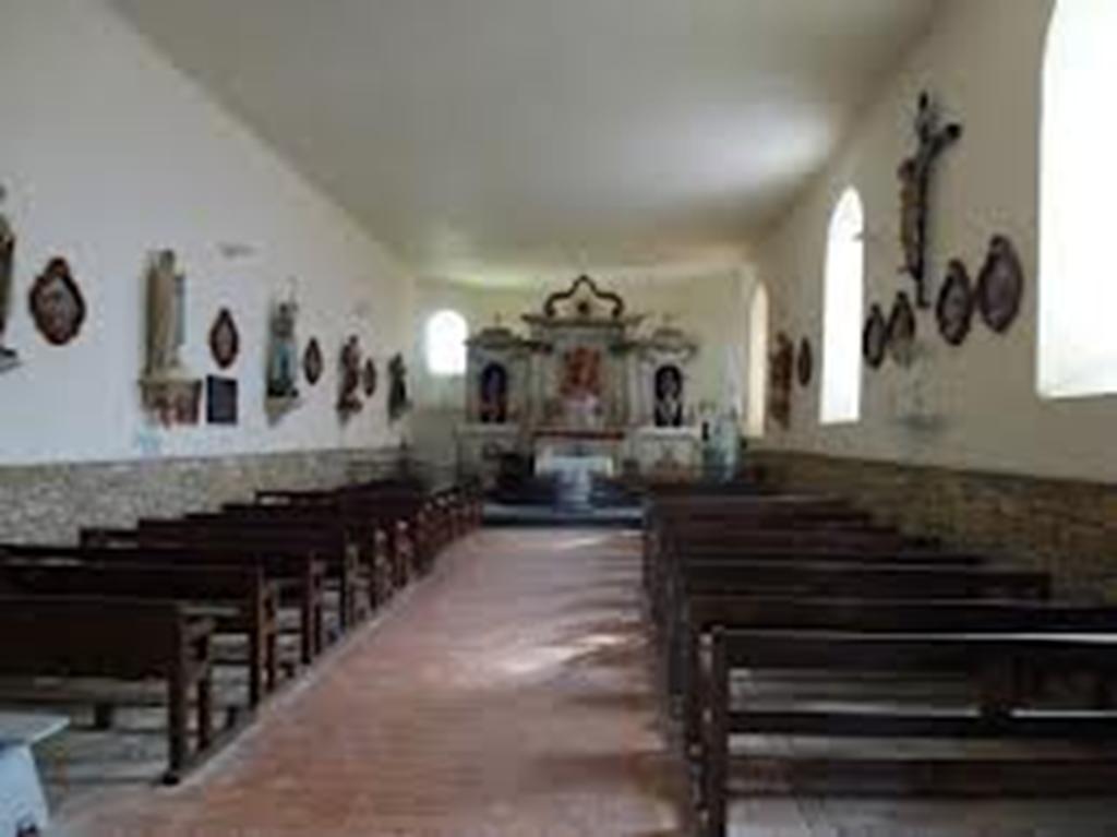 Intérieur de l'Eglise de Champlin